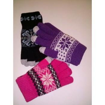 Modne ženske rokavice (TouchScreen)